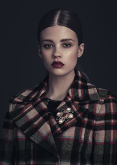 Daisy Beauty AW15 Trends Styling by Qim Claesson Photo by Sara Arnald Hair & make up by Johanna Nomiey