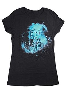 Doctor Who Cosmic Time Lord Ladies T-shirt. Quick and easy Doctor Who costume. Perfect for when you forget about Halloween and you need a quick fix. Find cool t-shirts at GuyGifter.com