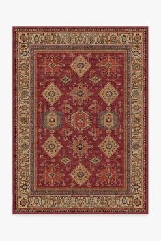 Suzani Coral Rug   Washable Green and Orange Rug   Ruggable Red Persian Rug, Coral Rug, Burgundy Rugs, Black White Rug, Machine Washable Rugs, Classic Rugs, Red Rugs, Natural Rug, Shopping