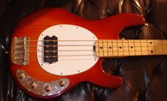 My old Stingray 4 - sold it when I switched to 5 string, But it was a damn fine bass.