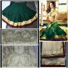 DIPEEKA GREEN LEHNGA  PRODUCT INFO : LEHANGA FABRIC - BANGALOREYI SILK BLOUSE FABRIC - FANCY BROCKET WITH EMBROILERY WORK DUPPTA FABRIC - NET WITH DIMOND WORK  Price : 1700 INR Only ! #Booknow  CASH ON DELIVERY Available In India ! Shipping Charges Extra  World Wide Shipping Available !  PayPal / WU Accepted  Free Shipping On Prepaid Shipment In India  Stitching Service Available  To order / enquiry  Contact Us : 91 9054562754 ( WhatsApp Only )  #fashion #lookbook #outfitsociety #fashiongram…