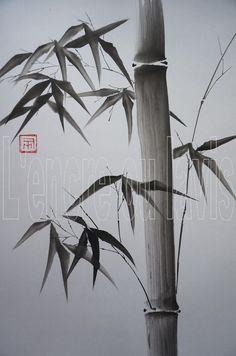 Bambou majeur 24x30