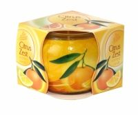 PAN AROMA SCENTED CANDLE CITRUS ZEST Scented Candles, Health And Beauty, Household, Fragrance, Shopping, Perfume