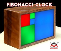 The ultimate clock for geeks! This Fibonacci Clock tells time in a very unusual way.