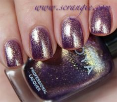Scrangie: Zoya Diva Collection Fall 2012 Swatches and Review - Zoya Nail Polish in Daul