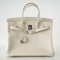 hermes blue hzz13 164235 grey tote bag