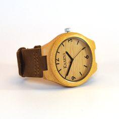 Oasis, Vaalea Puinen Rannekello - Kaarna www.kaarnakellot.fi Wood Watch, Oasis, Watches, Accessories, Fashion, Wooden Clock, Moda, Wristwatches, Fashion Styles