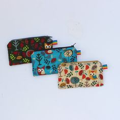 Reusable Fabric Snack Bag Fabric Food Storage by RainbowBeeDesign