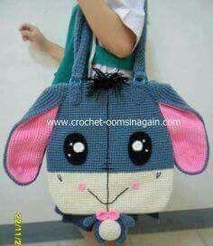 31 Ideas Crochet Kids Purse Minnie Mouse For 2019 Crochet Backpack, Crochet Tote, Crochet Handbags, Crochet Purses, Crochet Gifts, Crochet Baby, Crochet Disney, Granny Square Crochet Pattern, Crochet Blanket Patterns