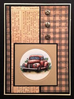 FS359 Old Jalopy Truck by BarbieP - Cards and Paper Crafts at Splitcoaststampers