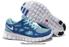 the latest c016f 0a078 Chalcedony Dragon Volt Lace Womens Nike Free Run 2 Tide Pool Blue Mega Blue  Pure Platinum Shoes