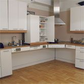 Universal Design, Kitchen Wall Cabinet Lift for Easy Access