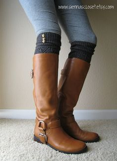 Perfect with skinny jeans in the winter, love the boots too.