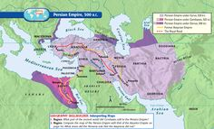 The Royal Road was built by the Achaemenid king Darius the Great BC). The Royal Road was 1600 miles long from Susa to Sardis. It served as a route for trading with the neighboring people. Persian Empire Map, Bible Mapping, Achaemenid, Ancient Persian, Ancient Near East, Susa, History Timeline, Historical Maps, World History