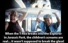 Interesting Movie Facts - Jurassic Park