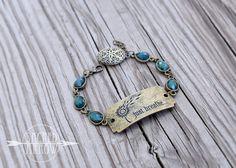 """Just Breathe"" Diffuser Bracelet – Sacred Arrow"