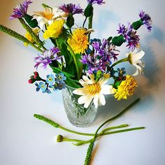 Air dry clay flowers using Modena Soft clay. Летний букет #пластика#ромашки#васильки#одуванчики#modenaclay