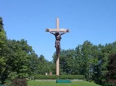 CROSS IN THE WOODS.... Indian River,  Michigan...
