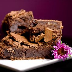 Low GI chocolate brownies. Similar to another pin but this time measurements are metric