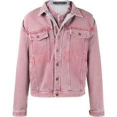 60201e2603 Y   Project  Overdye  Denim Jacket with Removable Denim Undershirt ( 715) ❤