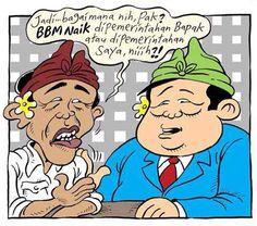 Mice Cartoon, Rakyat Merdeka: BBM naik