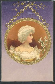 vintage nouveau postcard Vintage Labels, Vintage Postcards, Vintage Pictures, Vintage Images, Vintage Prints, Vintage Art, Images Victoriennes, Victorian Art, Vintage Children