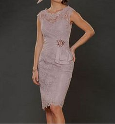 New short sleeve mother of the bride dress Women by VEILDRESS, $107.00