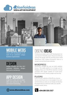 Mobile web and APP development team Marbella - Get in touch with us for your new APP or Mobile web design