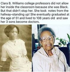 Powerful Women In History African Americans Ideas We Are The World, In This World, Black Power, Be My Hero, Black History Facts, Random History Facts, Black History Month People, Black History Inventors, History Quotes