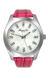 Women's Wrist Watches - Kenneth Cole New York Lizard Leather Motherofpearl Dial Womens watch KC2681 * See this great product.