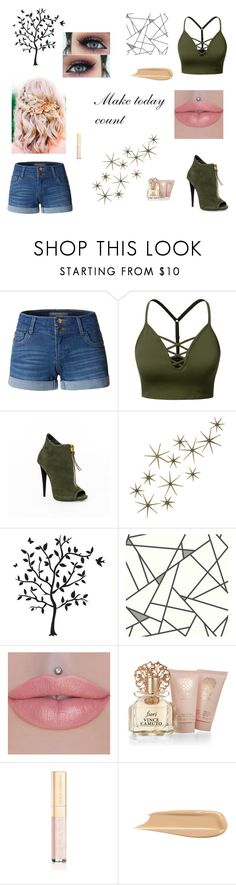 """Make today count,"" by writeitnow ❤ liked on Polyvore featuring LE3NO, J.TOMSON, Global Views, Godinger, Vince Camuto and Dolce&Gabbana"