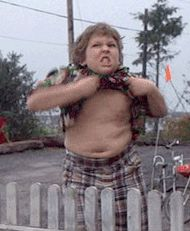 "Which ""Goonies"" Character Are You? » I got Chunk! Time for the #truffleshuffle"