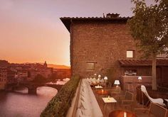 """The recently refurbished """"La Terazza"""" – the roof terrace bar of the Continentale hotel in Florence, Italy. I miss Florence! Florence Hotels, Florence Italy, Florence Restaurants, Voyage Florence, Florence Apartment, Travel Hotel, Luxury Travel, Best Rooftop Bars, Italian Lakes"""