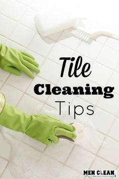 Keep your tiles shiny and clean with these Tile Cleaning Tips!