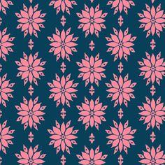 Chelsea Anderson - Miss Modd - Wallflowers in Bluebell short wide capris