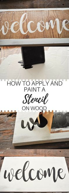 How To Create A Vinyl Stencil | Custom stencils, Stenciling and ...