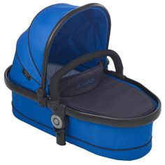 Peach 3 Blossom Carrycot Cobalt - Optional extra carrycot suitable from birth and overnight sleeping. Comes complete with padded mattress and raincover. Ideal until baby can sit unaided or weighs 9kg. http://www.icandyworld.com/uk/en/product/peach-3