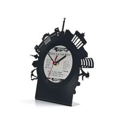 RE_VINYL Table Clock