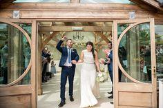 Just married Essex wedding