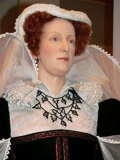 Mary Queen of Scots at Madame Tussaud's Wax Museum  in  London. Photographed by Mary Harrsch © 2006   A history  resource article by M...