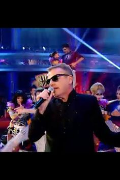 Suggs, strictly come dancing 2013