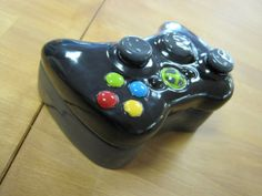 XboX 360 Ceramic Controller Box by ColorMeClayful on Etsy, $24.00