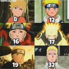 Honsetly, the age difference in the Naruto series is like the only anime that actually makes since. Most animes will be like looks like a 5 year old' - looks like an 18 year old'