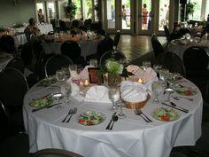 Table setup.