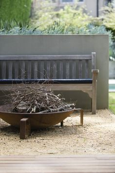 Peter Fudge creates gardens that connect in deep and meaningful ways. Peter has been designing beautiful gardens since Every garden design has… Outdoor Rooms, Outdoor Gardens, Outdoor Living, Outdoor Decor, Outdoor Ideas, Garden Fire Pit, Garden Features, Garden Structures, Outdoor Settings