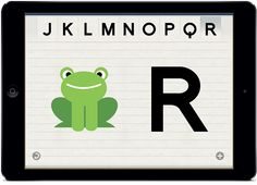 ABCKit, una aplicación que se basa en el método Montessori para aprendan las letras del abecedario .