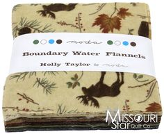 Boundary Water Flannels Charm Pack from Missouri Star Quilt Co