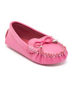 This Fuchsia Todd Bow Loafer by Lucky Top is perfect! #zulilyfinds