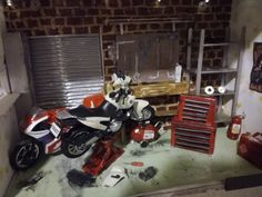#miniature #mc #garage