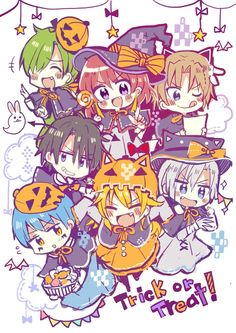 The Dark Dragon and the Happy Hungry Bunch. Cute! X)